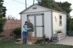 pictures of customers sheds