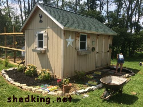 free gable shed building guide