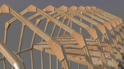 Gambrel shed truss plans