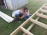 little shed building helpers