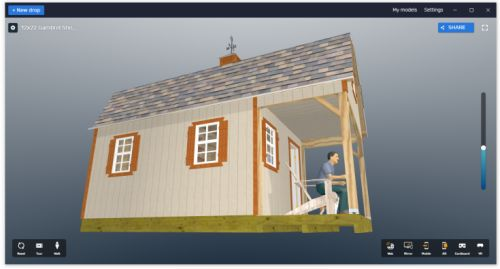 12x22 shed home plans virtual tour