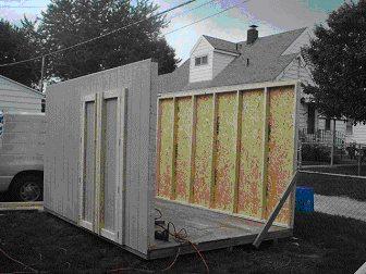 storage shed walls