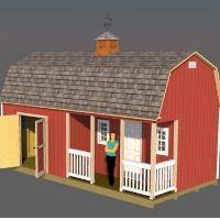 small cabin shed ideas