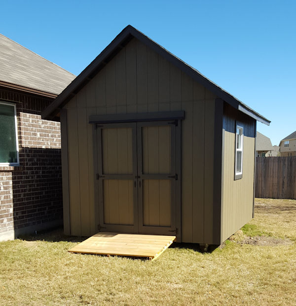 wigs shed built from 10x12 gable shed plans.